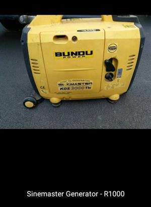 Sinemaster generator for sale