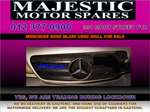 Mercedes benz ml350 used grill for sale
