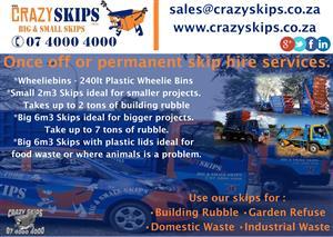 Rustenburg Crazy Skips Hire & Waste / Rubble Removal