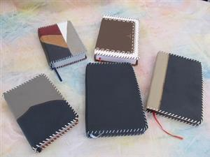 Cover Bibles with leather
