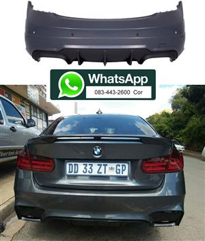BMW F30 '12-17' REAR BUMPER SKIN KIT (F80; M3 LOOK)