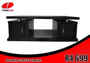 BOLDEN COFFEE TABLE BRAND NEW !!!! FOR ONLY R4 699