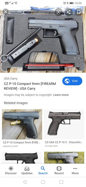 Cz p-10 for sale