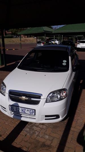 2011 Chevrolet Aveo 1.6 LT sedan