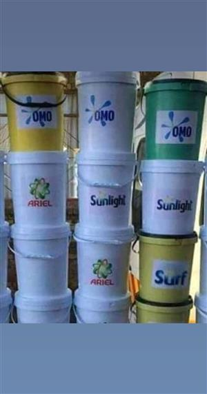 20litre buckets washing powder