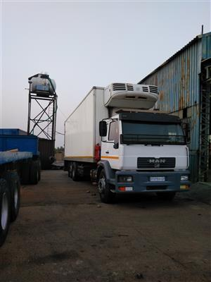 Man frigh truck m2000 12 ton