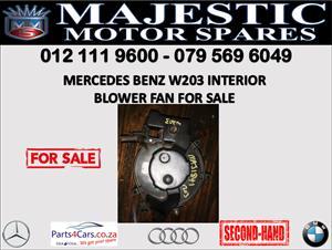 Mercedes benz W203 blower fan for sale