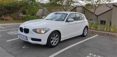 2012 BMW 1 Series 116i 5 door auto