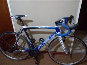 Silverback pad fiets