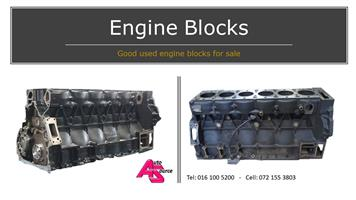Used truck and machine engine components for sale!