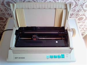 Seikosha SP 2400  Dot Matrix Printer. In good working condition.
