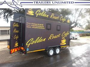 TRAILERS UNLIMITED MOBILE KITCHENS INCLUDING THE BEST QUALITY EQUIPMENT.