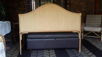 Cane Headboard