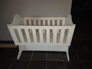 White cot for sale