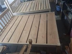 2 x double beds for sale