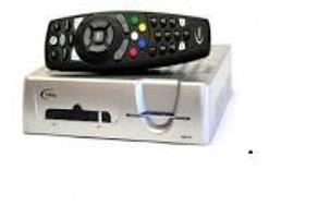 Single dstv decoder and remote