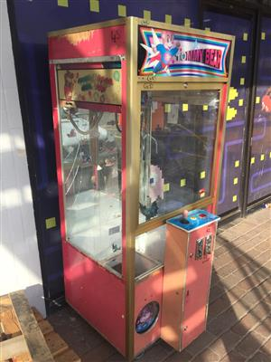 Teddy bear crane machine for sale
