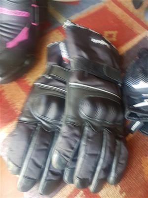 Large biker's gloves for sale