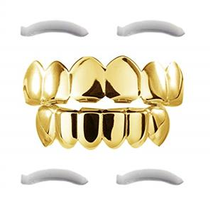 GOLD & CHROME Teeth Grillz - R150 A SET!!