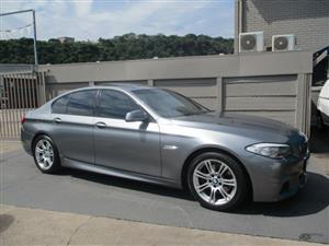 2012 BMW 5 Series sedan 520i M SPORT A/T (G30)