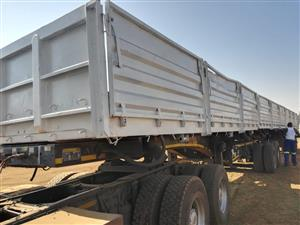 2012 Afrit Superlink mass dropside Side Tipper with Air suspension!