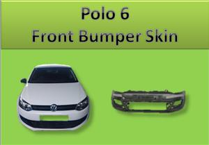 New Polo 6 Front Bumper Skin for Sale
