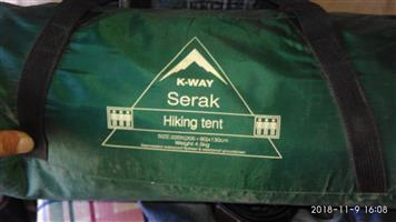 K WAY SERAK TENT FOR SALE