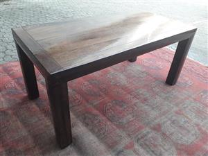 8 seater Indonesian hard wood dining table