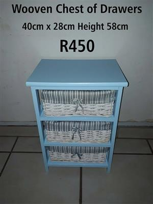 Wooven Chest of Drawers