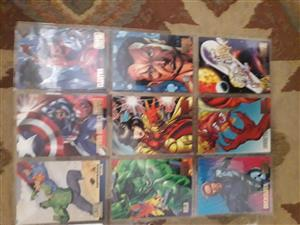 Marvel vs DC 1995 trading cards