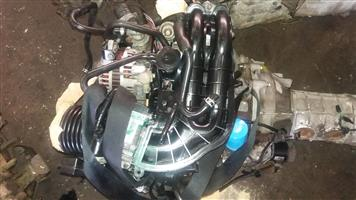 Mazda 13B Rotary Engine & 5 speed Manual Gearbox # 13B