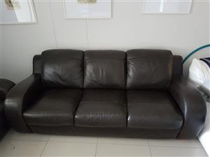 Quality Original Leather couch set