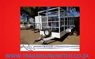 TRAILERS UNLIMITED CUSTOM BUILD UTILITY TRAILERS.