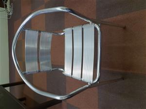 New aluminium Chairs