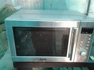 Silver defy grill microwave
