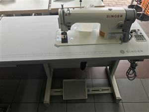 Brand new SINGER industrial sewing machinery