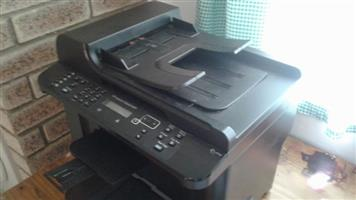 Black HP Office printer and copier