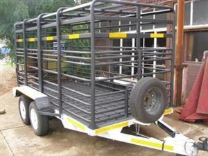 Cattle/Livestock trailer - Square versatile