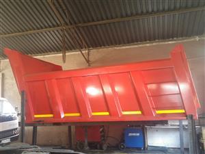 we manufacture tipper bin