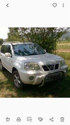 2003 Nissan X-Trail 2.5 4x4 SE