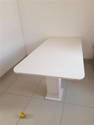 White kitchen table for sale