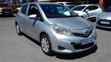 2012 Toyota Yaris 1.0 5 door T1