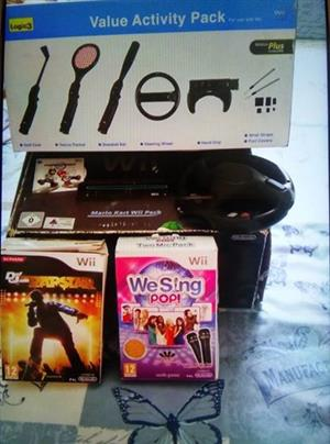 Wii Console plus extras and games