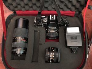 Mamiya Z-2 35mm camera