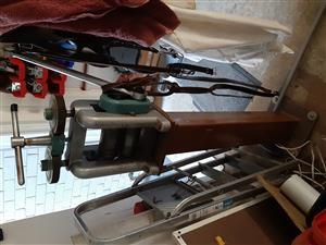 Jewellers geared rolling mill