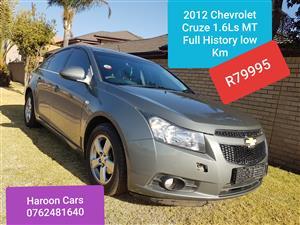 2012 Chevrolet Cruze 1.6 LS