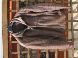 GENTLEMAN'S LEATHER JACKET -