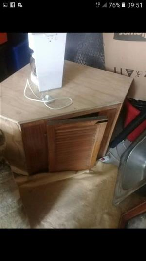 Wooden corner cabinet for sale