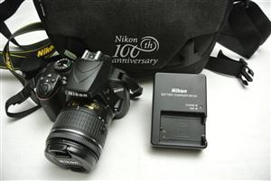 Nikon D3400 DSLR with 18-55mm Lens