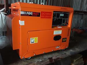 ADE 7.5 KVA Single Phase Diesel 30AMP